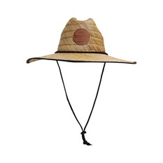 Quiksilver Waterman Men's Dredge Straw Hat Natural S / M, , bcf_hi-res